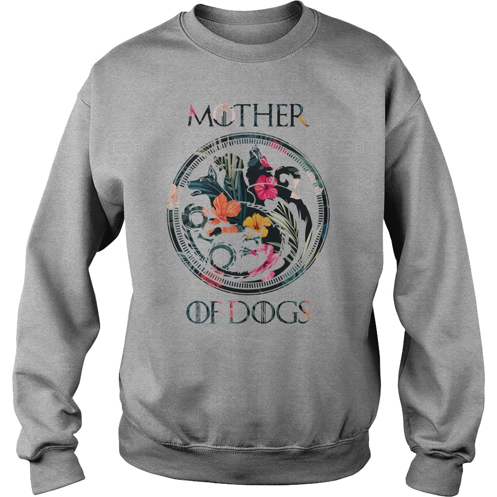 Mother Of Dogs Tropical Flower sweatshirt