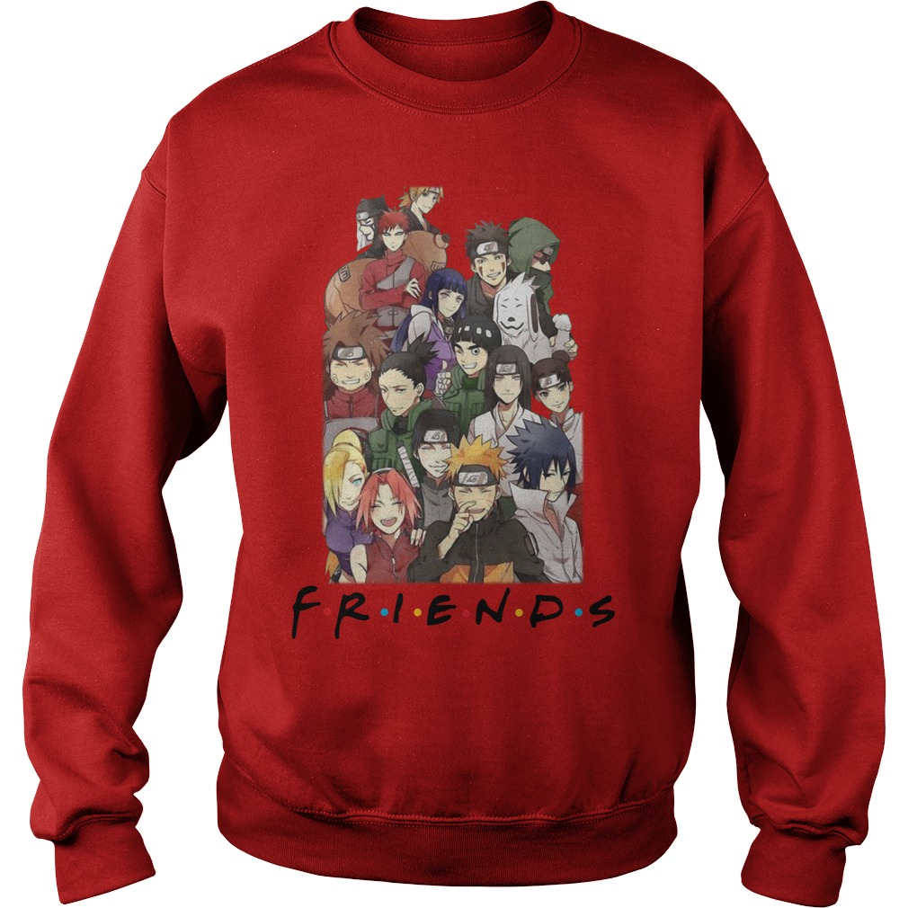 Naruto Anime F.R.I.E.N.D.S together sweatshirt