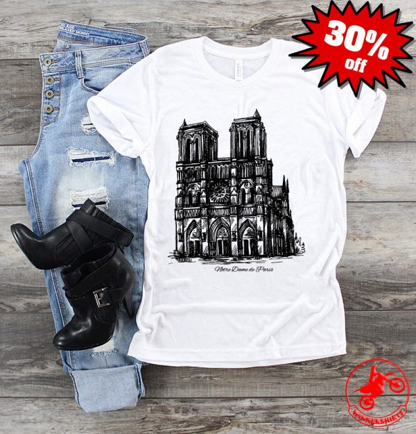 Pray For Notre-Dame Cathedral Paris Shirt