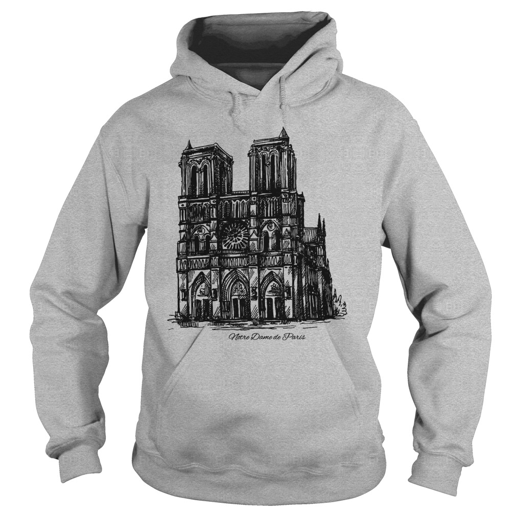 Pray For Notre-Dame Cathedral Paris hoodie
