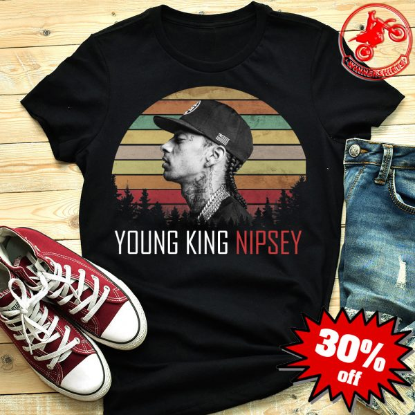 Respect Young King Nipsey Hussle Vintage Shirt