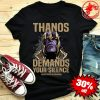 Thanos Demands Your Silence #don'tspoiltheendgame shirt