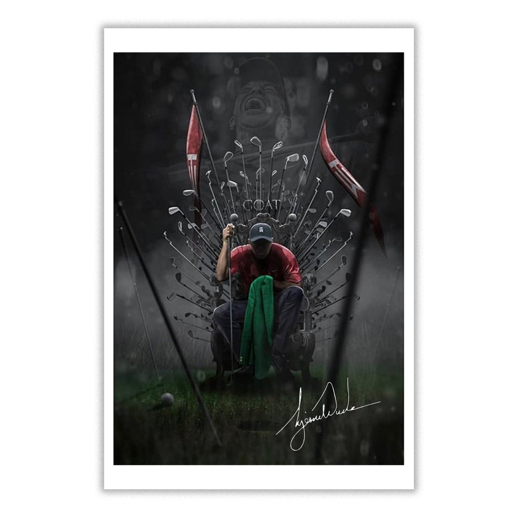 Tiger Woods The Goat Game Of Thrones small poster