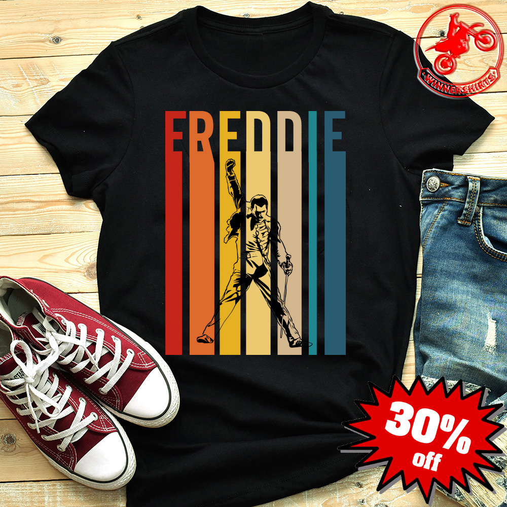 7a9f29907 Vintage Freddie The Queen Band shirt, hoodie, long sleeve