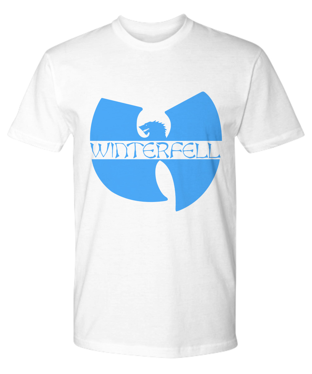 Wo Tang Winterfell logo Game Of Thrones premium shirt