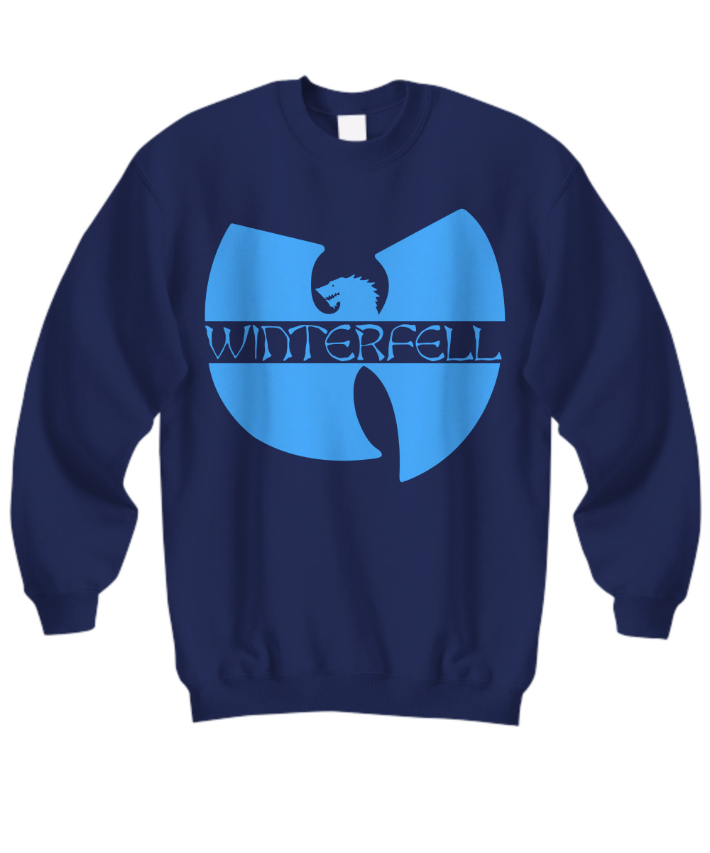 Wo Tang Winterfell logo Game Of Thrones sweatshirt