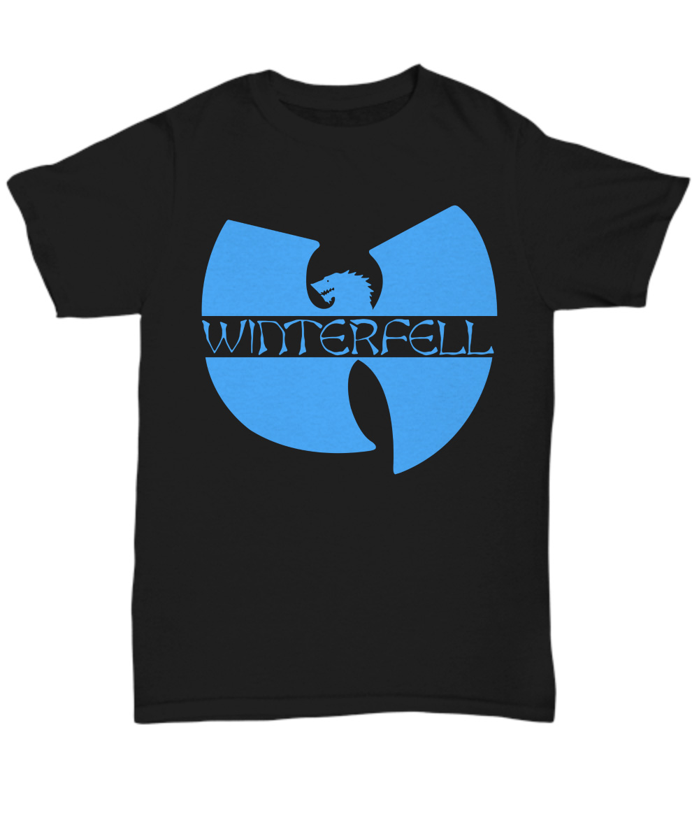 Wo Tang Winterfell logo Game Of Thrones unisex shirt