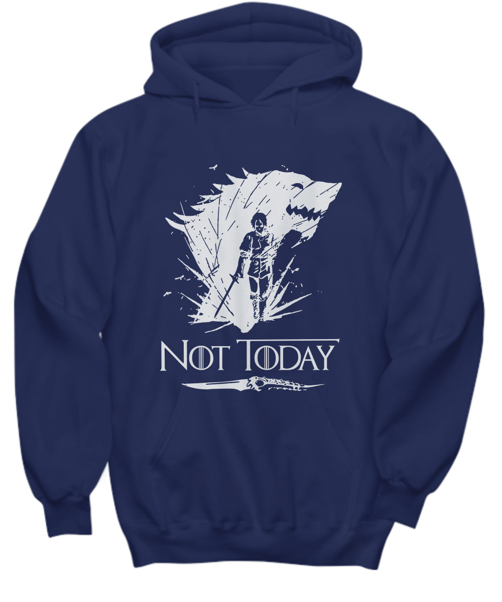 Arya's Dagger Killed The Night King Not Today Hoodie