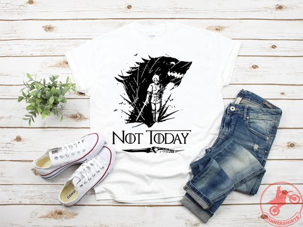 Arya's Dagger Kills The Night King Not Today shirt