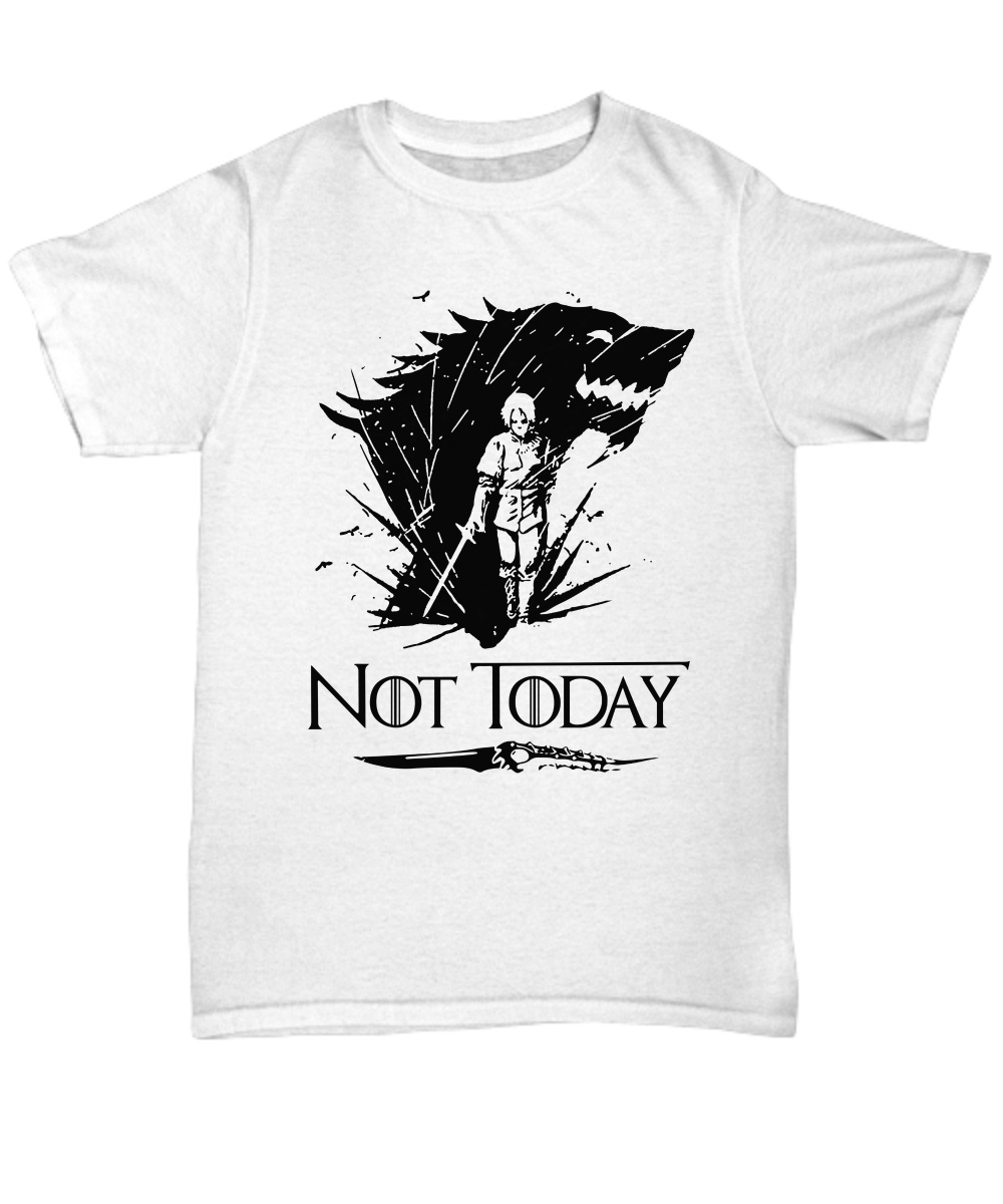 Arya's Dagger Kills The Night King Not Today unisex shirt