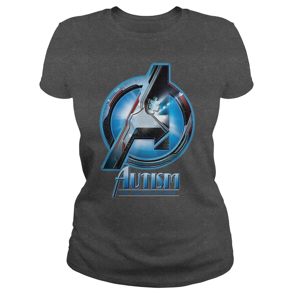 Autism My Super Power Marvel Avenger Endgame lady shirt