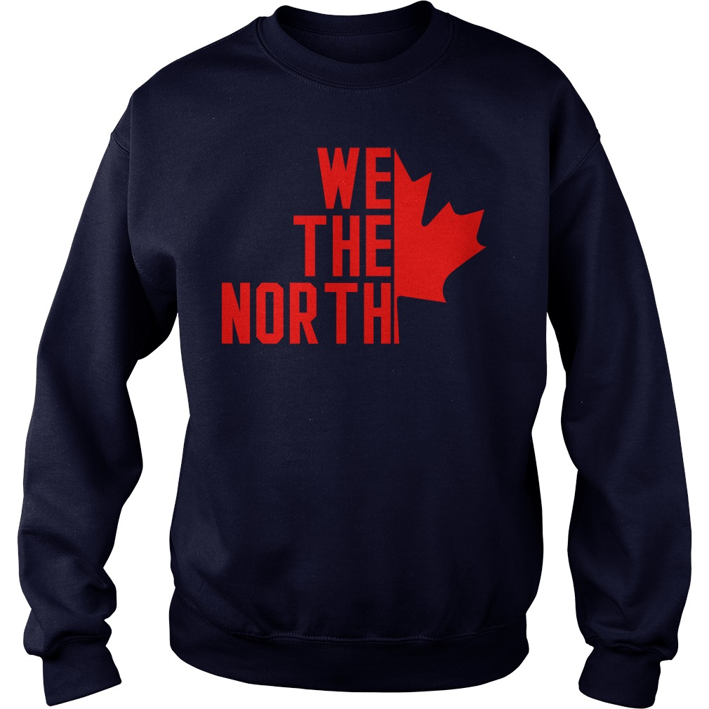 Canada Raptors We The North Sweatshirt