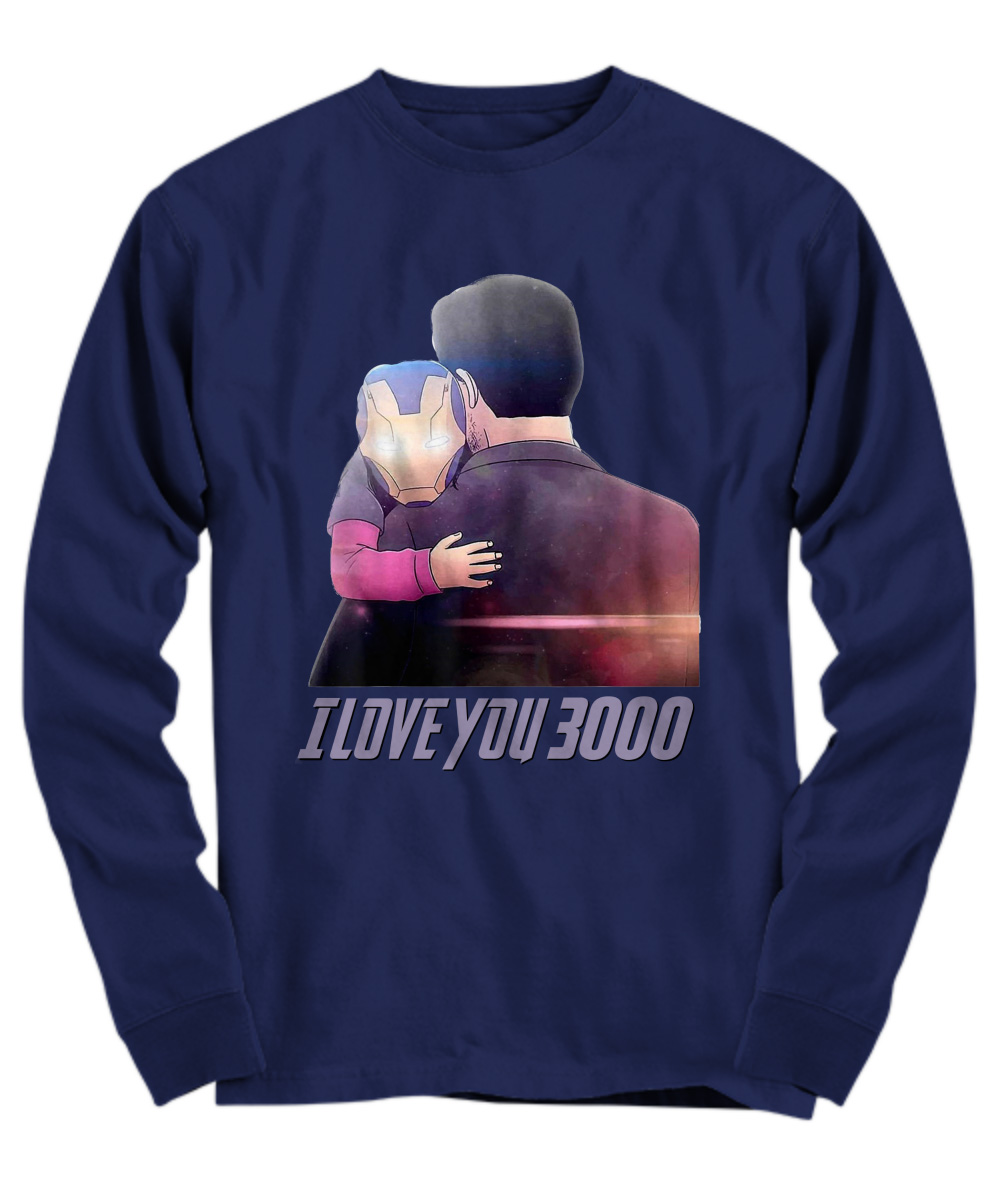 Dad I Love You 3000 Iron Man's Daughter Future long sleeve
