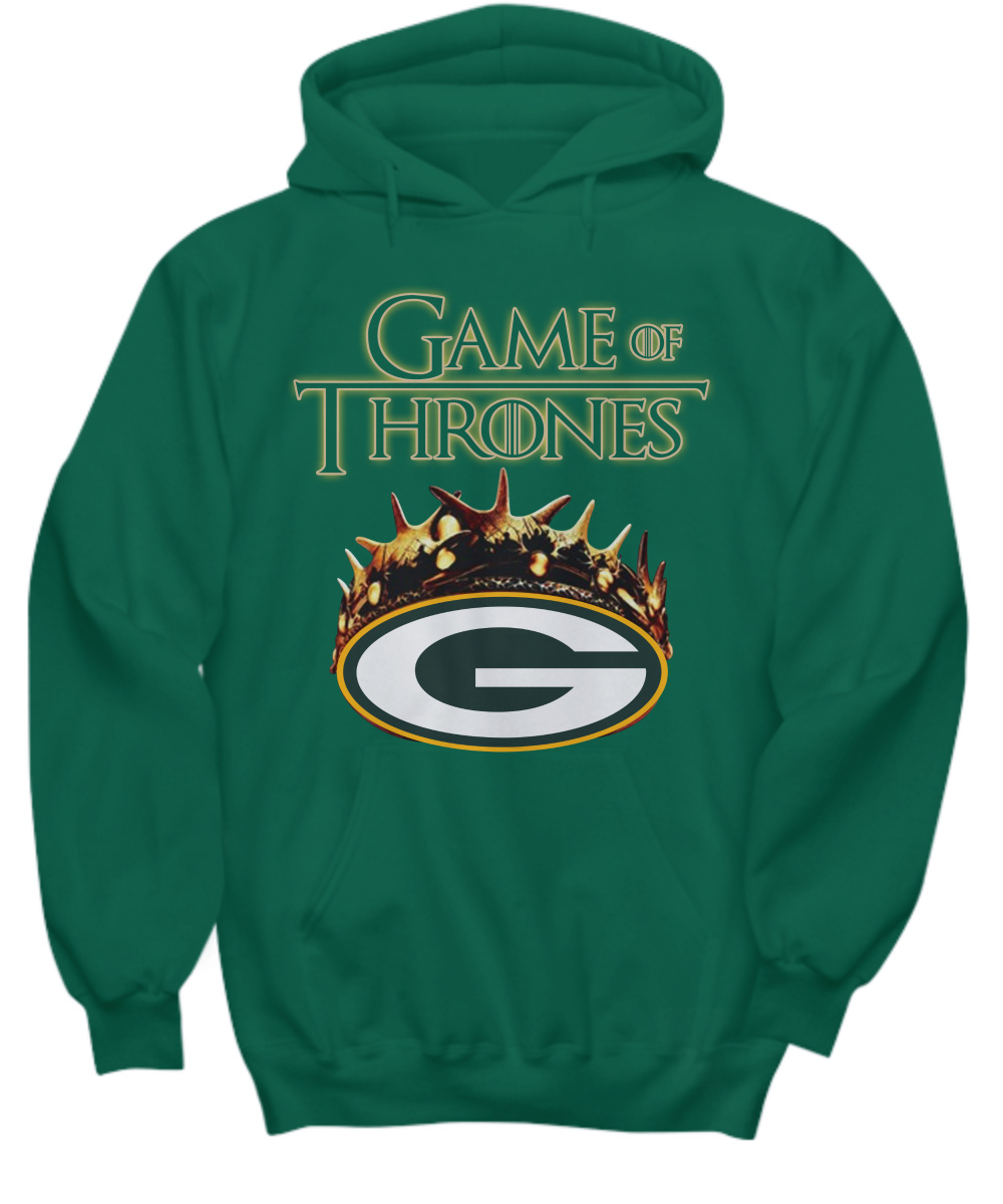 Game Of Thrones Crown Green Bay Packers NLF hoodie
