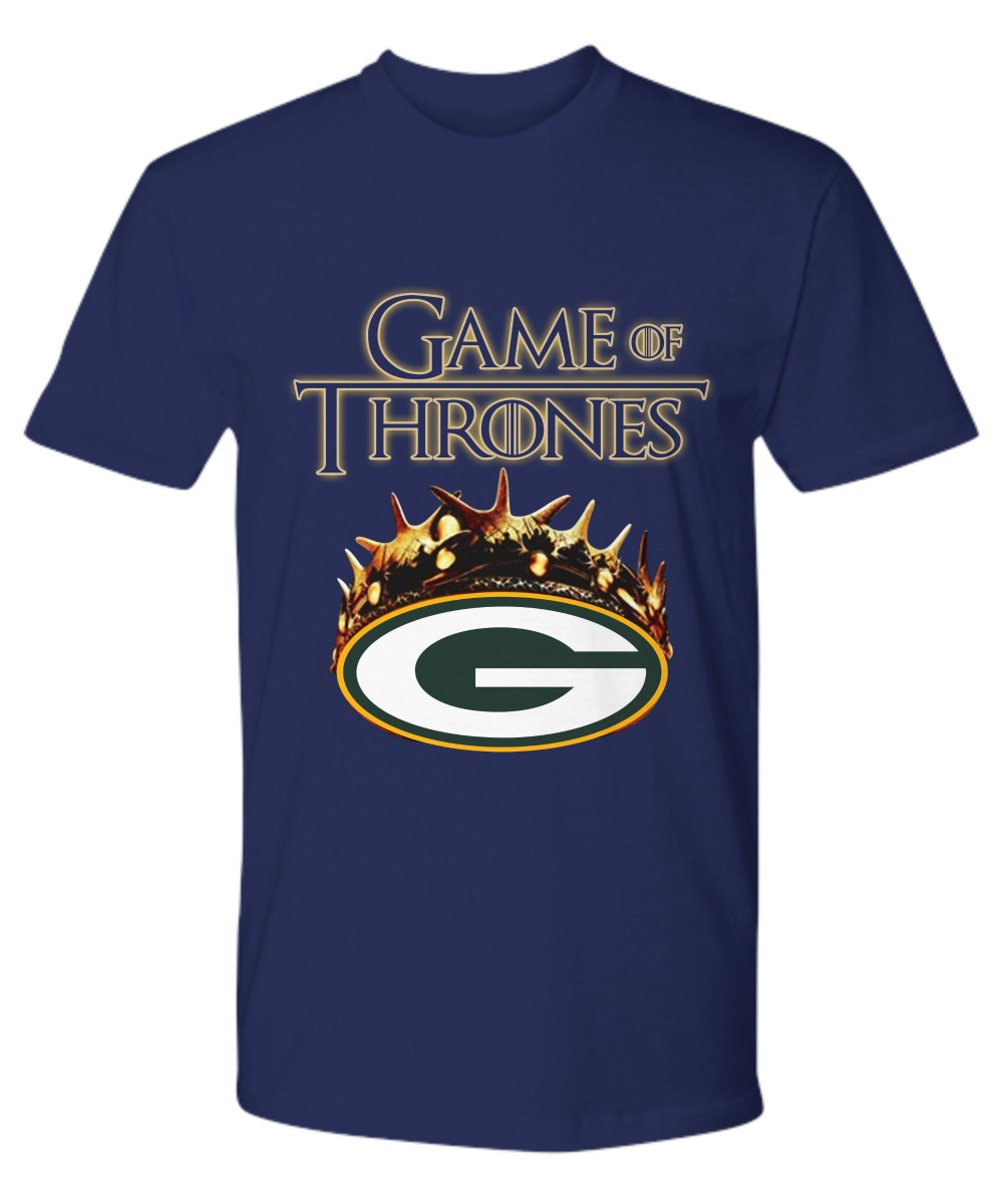 Game Of Thrones Crown Green Bay Packers NLF premium shirt