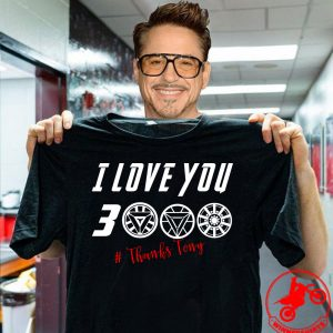 I Love You 3000 Arc Reactor #ThanksTony Shirt