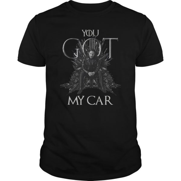 John Wick 3 You Got My Car Mashup Game Of Thrones shirt