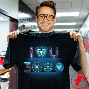 Reactor Iron Man I Love You 3000 Times Shirt