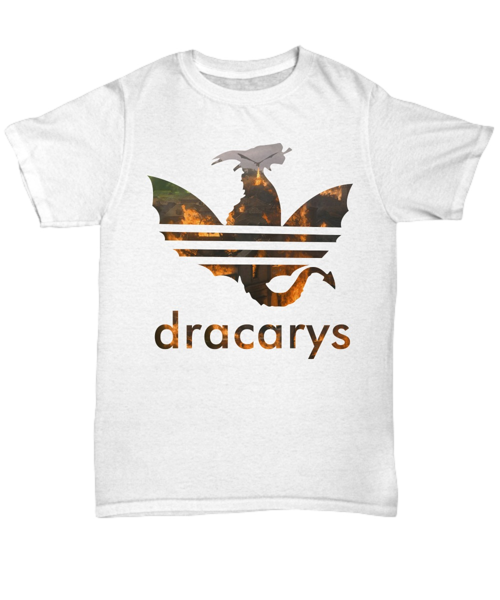 Dracarys Daenerys Burns King's Landing unisex shirt