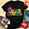 Father's Day Super Daddio Super Mario Shirt