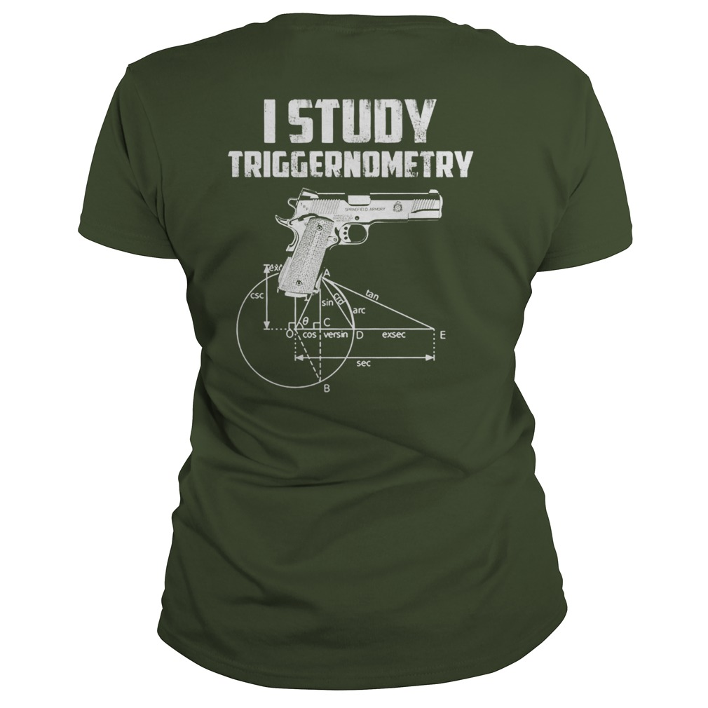 I Study Triggernometry Veteran Lady Shirt