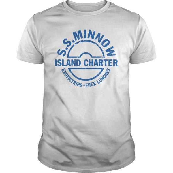 S.S. MINNOW Island Charter Graphic Shirt