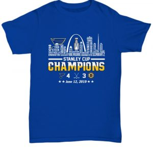 St Louis Blues Stanley Cup Championships Squad Shirt