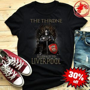 Top Game of Thrones The Throne Belongs to Liverpool Shirt