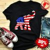 Donald Trump Republican Elephant American Flag Shirt
