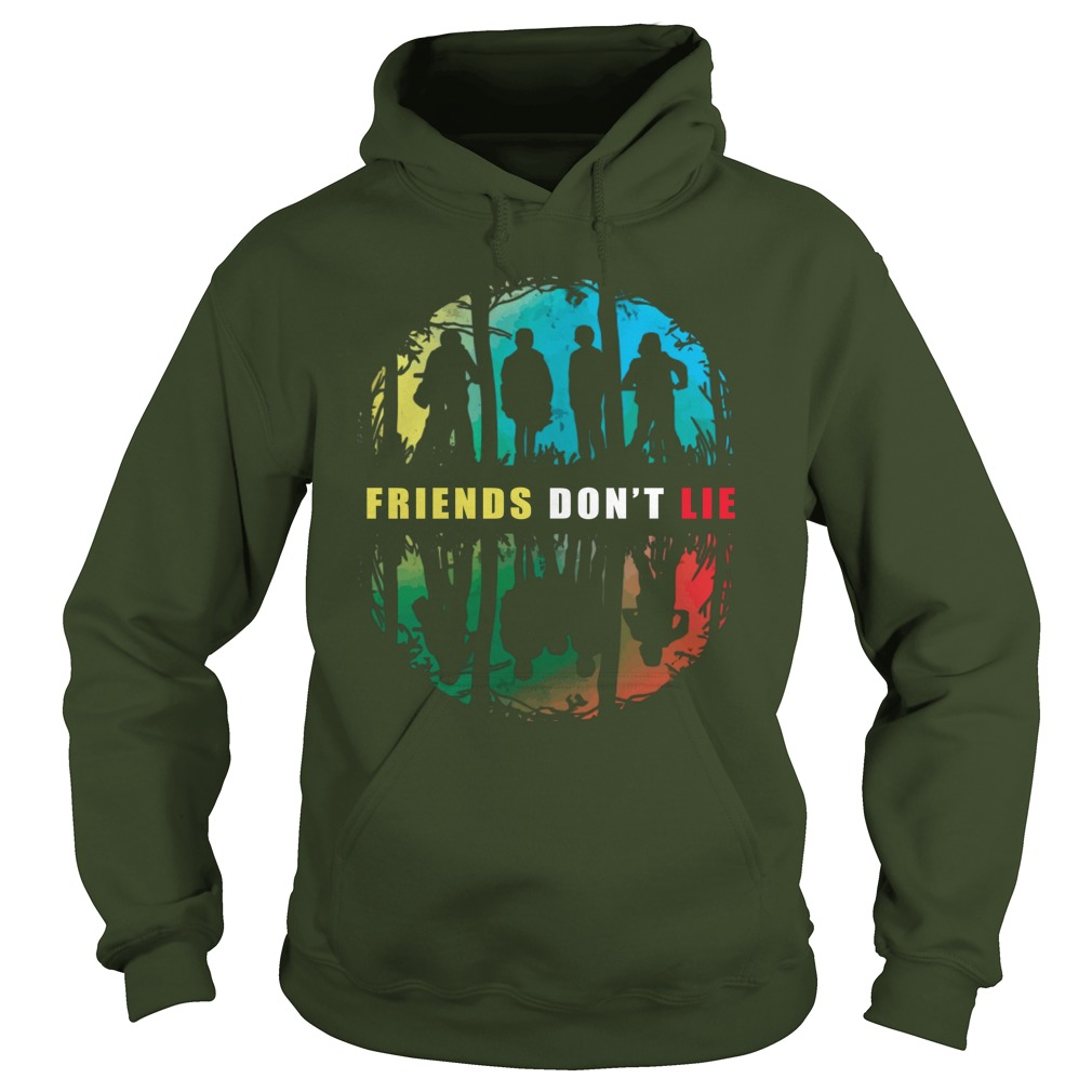 Friends Don't Lie Stranger Things Hoodie