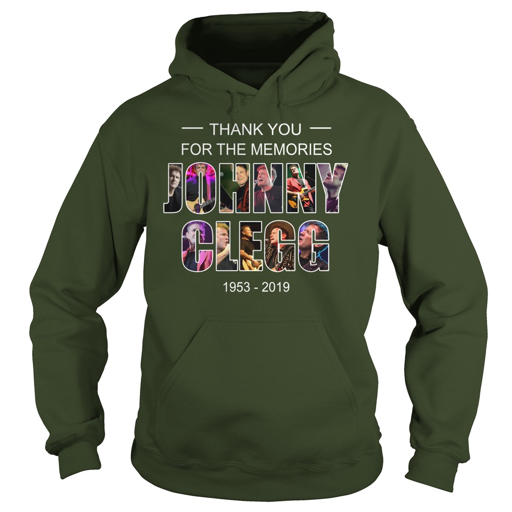 Johnny Clegg thank you for the memories 1953-2019 shirt