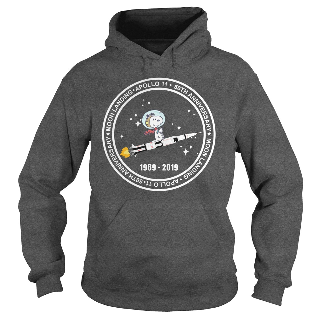 Snoopy Apollo 11 50th Anniversary 1969 - 2019 Hoodie