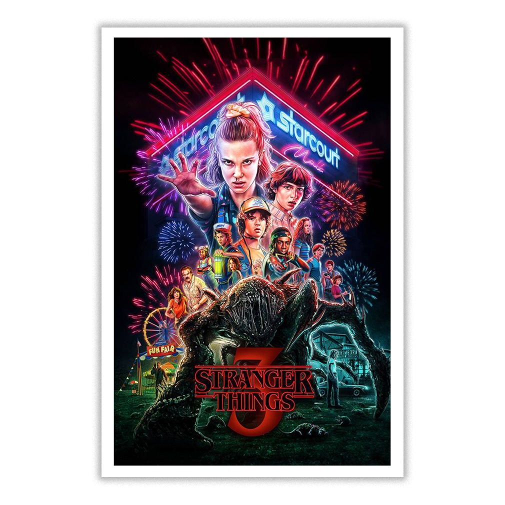Stranger Things 3 Small Poster