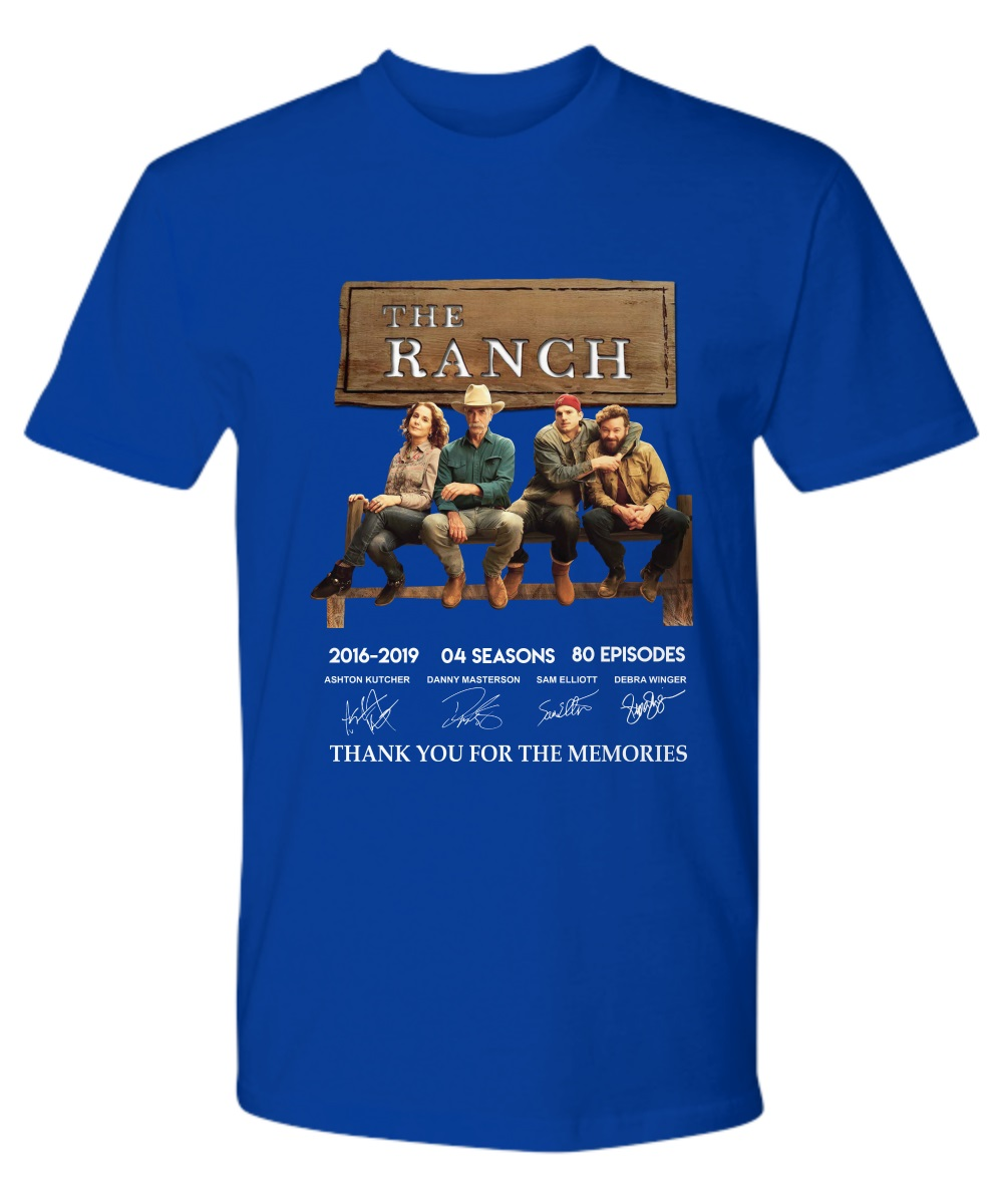 The Ranchi Thank You For The Memories Premium Shirt
