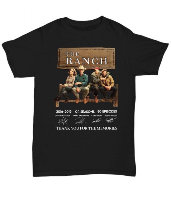 The Ranchi Thank You For The Memories Shirt