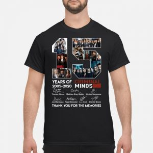15 Years of Criminal Minds 2005-2020 signature shirt