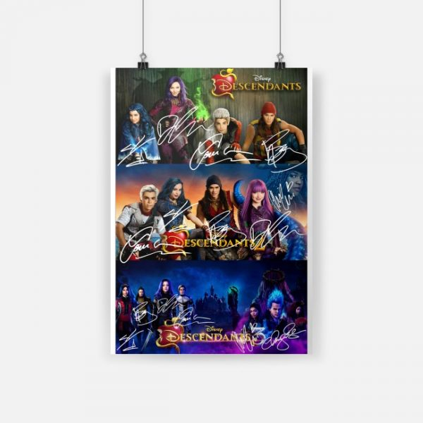 Disney Descendants 2 Signature Poster