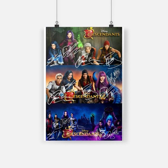 Disney Descendants 2 Signature Small Poster