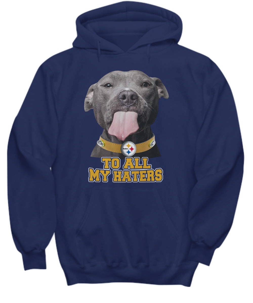 Dog To All My Hater Pittsburgh Steelers Hoodie