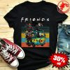 Friends Michael Myers Freddy Krueger Jason Voorhees Chucky Ghostface Driving Car Shirt