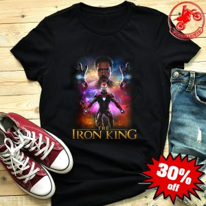 The Iron King Iron Man Marvel Avengers Shirt