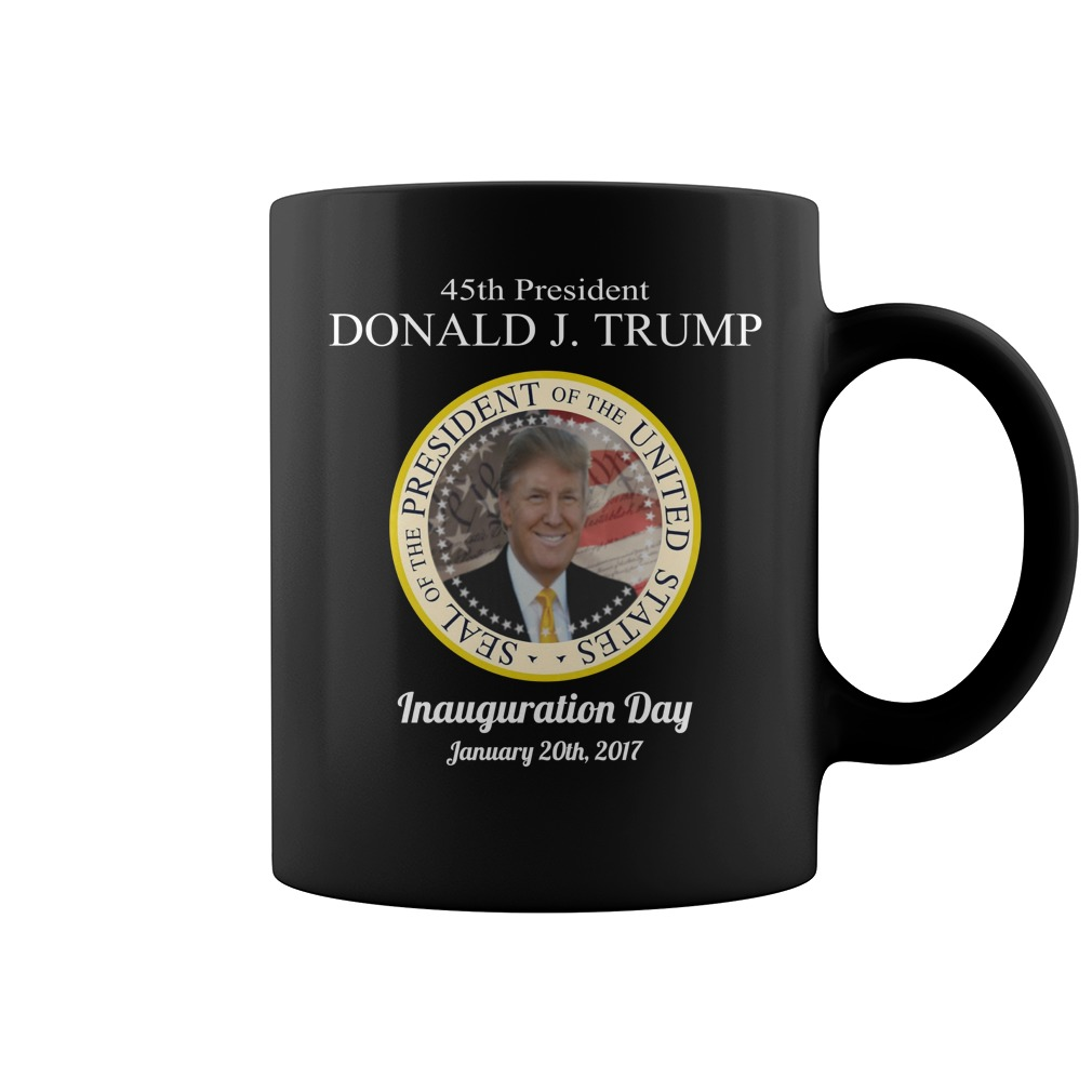 45th President Donald Trump Inauguration Day mug