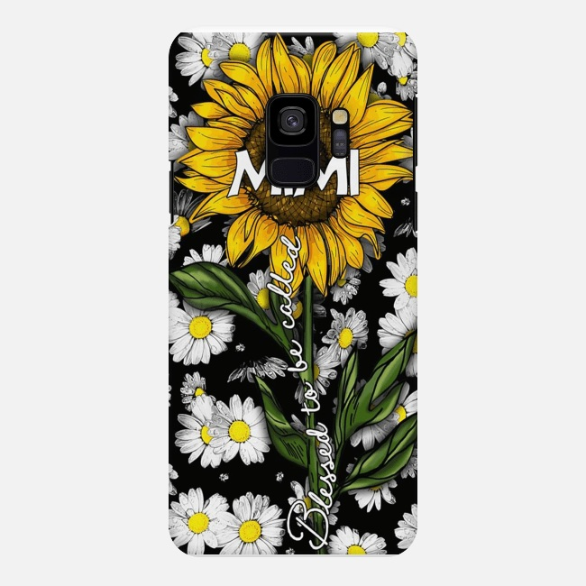 Blessed to be called mimi sunflower Samsung S9 case