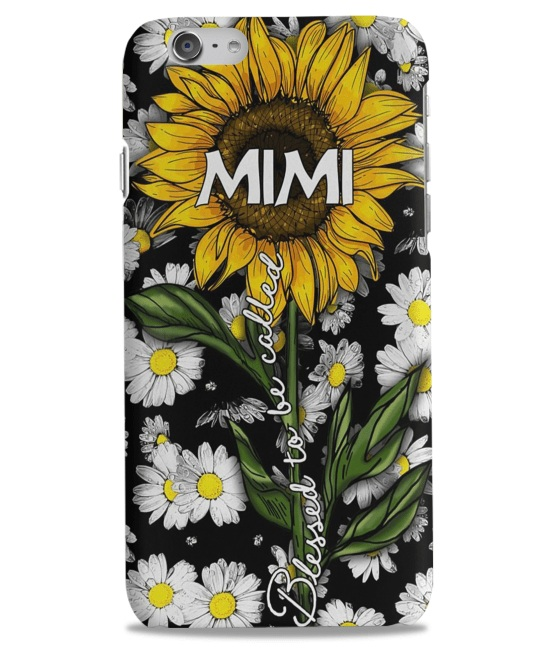 Blessed to be called mimi sunflower iPhone 6 case
