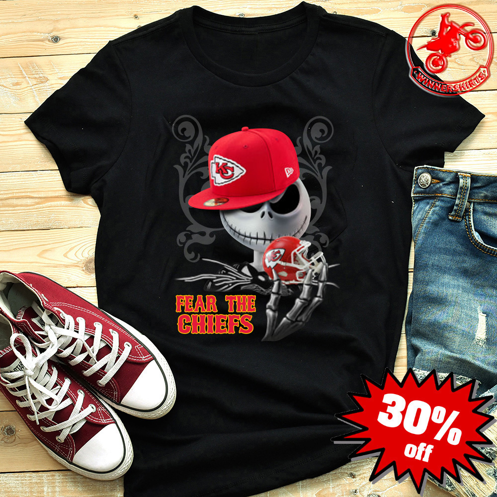 Jack Skellington Fear the Kansas City Chiefs shirt