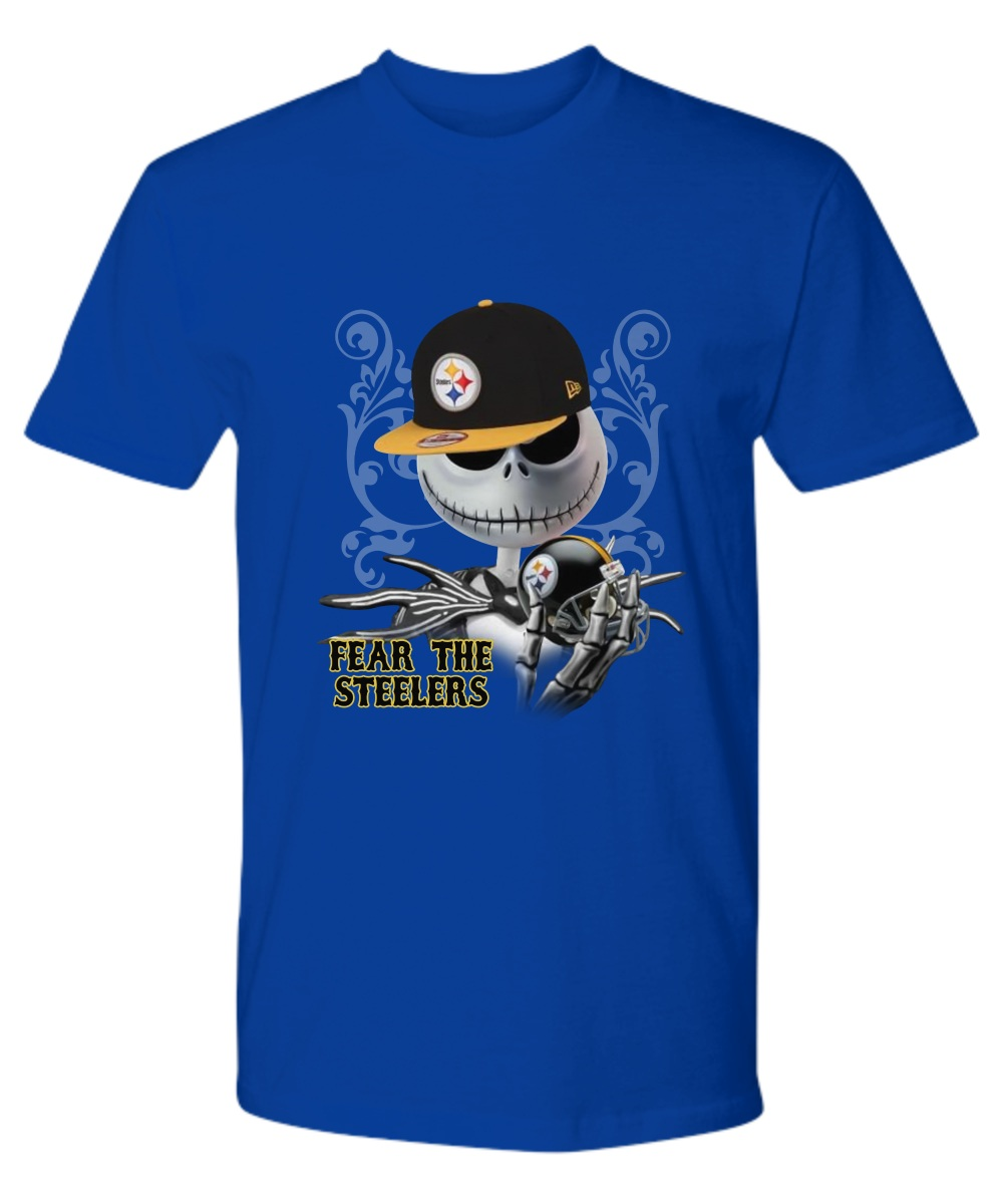 Jack Skellington Fear the Steelers Premium Shirt