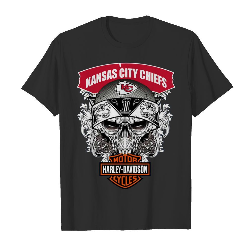 Kansas City Chiefs Harley-Davidson shirt