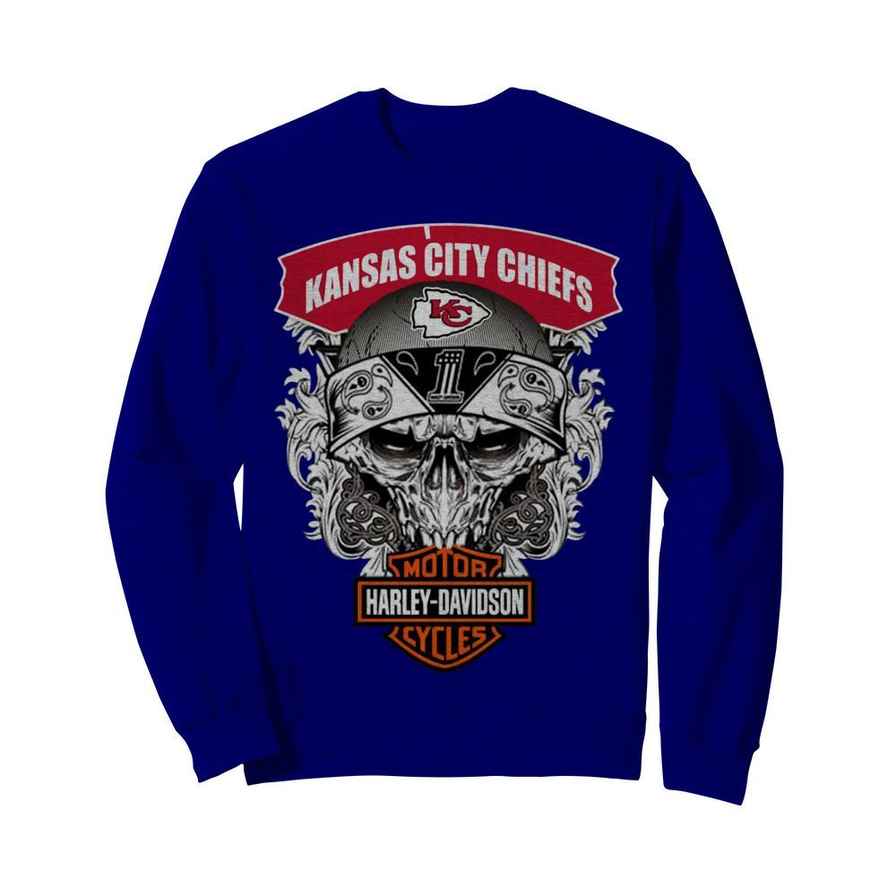 Kansas City Chiefs Harley-Davidson sweatshirt