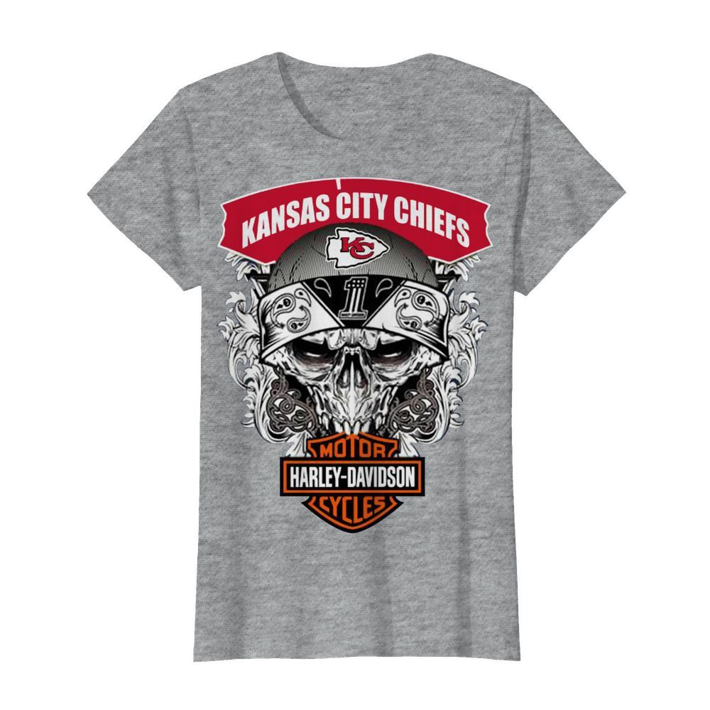 Kansas City Chiefs Harley-Davidson women shirt