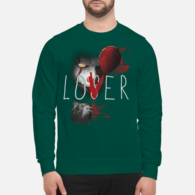 Pennywise IT loser lover sweatshirt